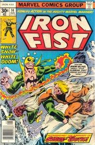 Iron Fist 14 - Snowfire - 00 - FC