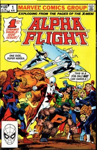 Alpha Flight #001 Cover
