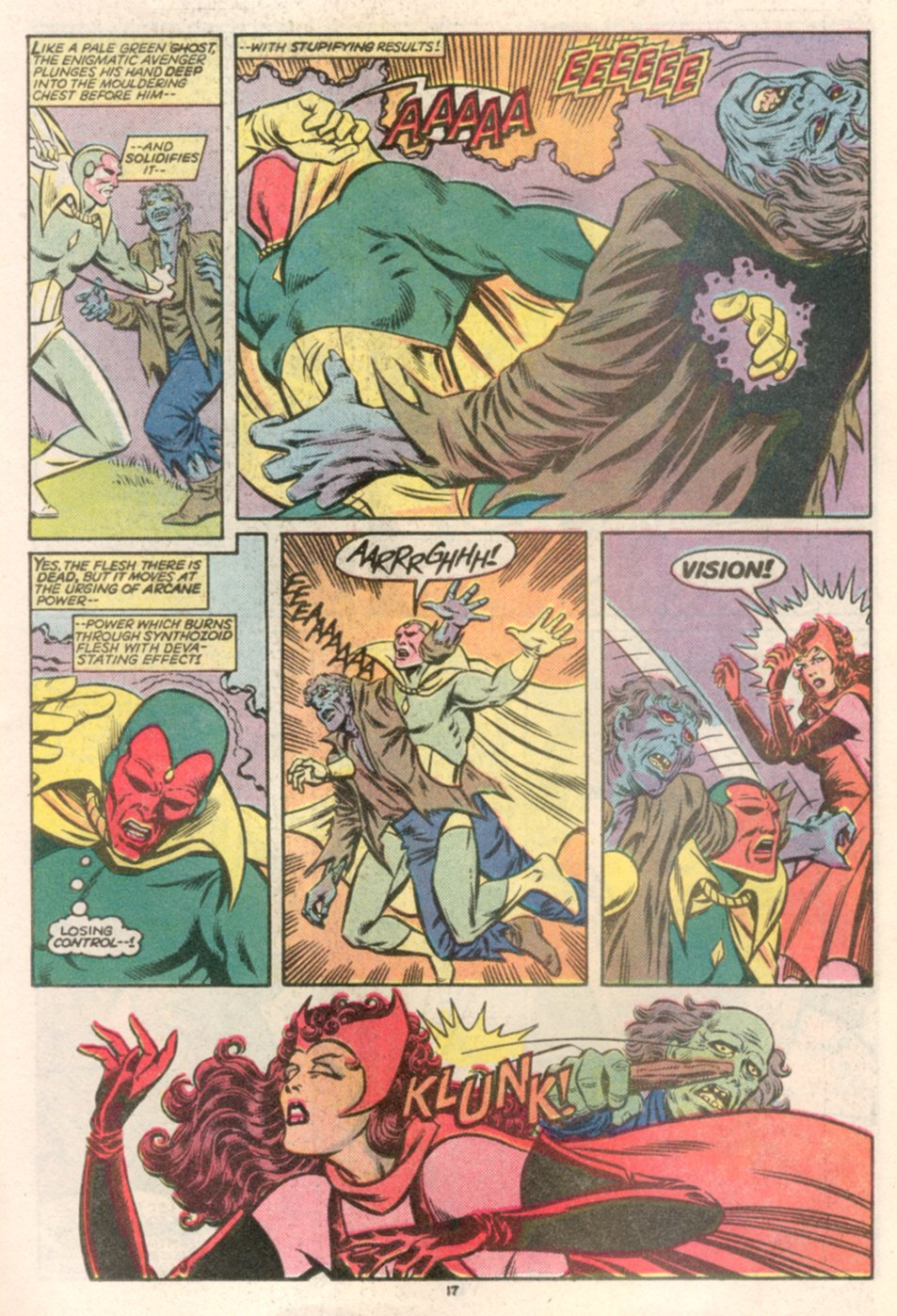 July 1985: Vision & The Scarlet Witch #1